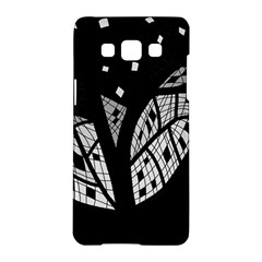 Black and white tree Samsung Galaxy A5 Hardshell Case
