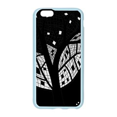 Black and white tree Apple Seamless iPhone 6/6S Case (Color)