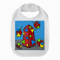 Crazy building Bib
