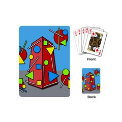 Crazy building Playing Cards (Mini)