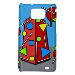 Crazy building Samsung Galaxy S2 i9100 Hardshell Case