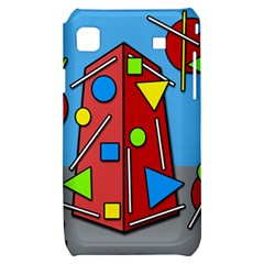 Crazy building Samsung Galaxy S i9000 Hardshell Case
