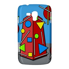 Crazy building Samsung Galaxy Duos I8262 Hardshell Case