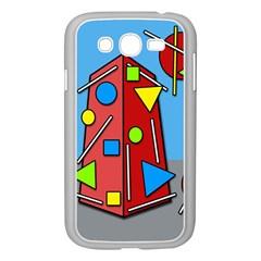 Crazy building Samsung Galaxy Grand DUOS I9082 Case (White)