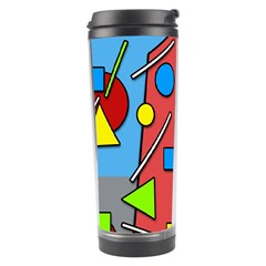 Crazy building Travel Tumbler
