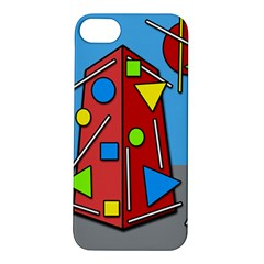 Crazy building Apple iPhone 5S/ SE Hardshell Case