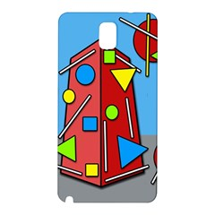 Crazy Building Samsung Galaxy Note 3 N9005 Hardshell Back Case