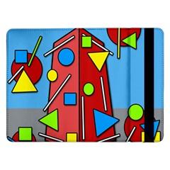Crazy building Samsung Galaxy Tab Pro 12.2  Flip Case