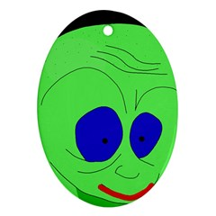Alien by Moma Ornament (Oval)