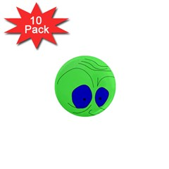 Alien by Moma 1  Mini Magnet (10 pack)