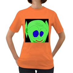 Alien by Moma Women s Dark T-Shirt