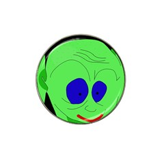 Alien by Moma Hat Clip Ball Marker (4 pack)