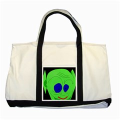 Alien by Moma Two Tone Tote Bag