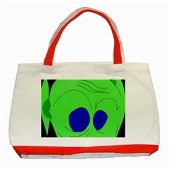 Alien by Moma Classic Tote Bag (Red)