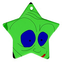 Alien by Moma Star Ornament (Two Sides)