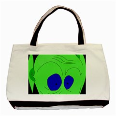 Alien by Moma Basic Tote Bag (Two Sides)