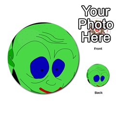 Alien by Moma Multi-purpose Cards (Round)