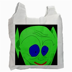 Alien by Moma Recycle Bag (Two Side)
