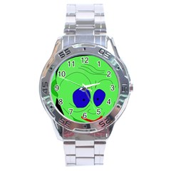 Alien by Moma Stainless Steel Analogue Watch