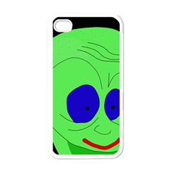 Alien by Moma Apple iPhone 4 Case (White)
