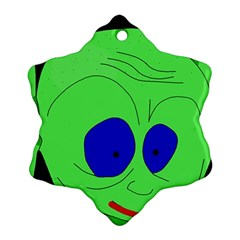 Alien by Moma Snowflake Ornament (2-Side)