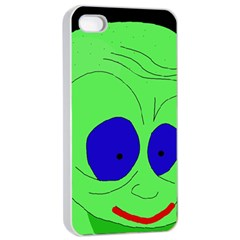 Alien by Moma Apple iPhone 4/4s Seamless Case (White)