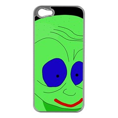 Alien by Moma Apple iPhone 5 Case (Silver)