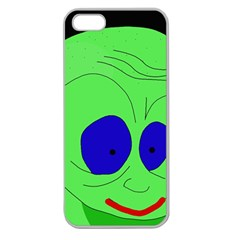 Alien by Moma Apple Seamless iPhone 5 Case (Clear)