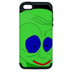Alien by Moma Apple iPhone 5 Hardshell Case (PC+Silicone)