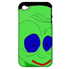 Alien by Moma Apple iPhone 4/4S Hardshell Case (PC+Silicone)