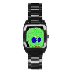 Alien by Moma Stainless Steel Barrel Watch