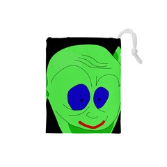 Alien by Moma Drawstring Pouches (Small)