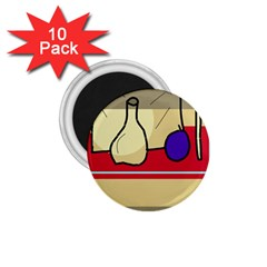 Decorative art 1.75  Magnets (10 pack)