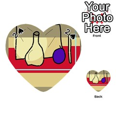 Decorative art Playing Cards 54 (Heart)