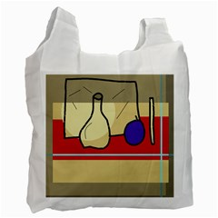 Decorative art Recycle Bag (One Side)