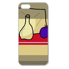 Decorative art Apple Seamless iPhone 5 Case (Clear)