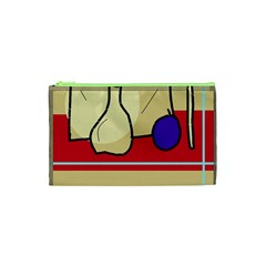 Decorative art Cosmetic Bag (XS)