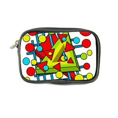 Crazy geometric art Coin Purse