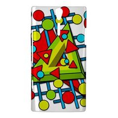 Crazy geometric art Sony Xperia S