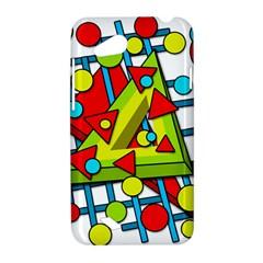 Crazy geometric art HTC Desire VC (T328D) Hardshell Case