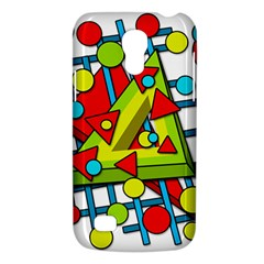 Crazy geometric art Galaxy S4 Mini
