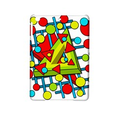 Crazy geometric art iPad Mini 2 Hardshell Cases