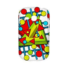 Crazy geometric art Samsung Galaxy S6810 Hardshell Case
