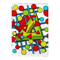 Crazy geometric art Samsung Galaxy Tab Pro 10.1 Hardshell Case