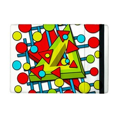Crazy geometric art iPad Mini 2 Flip Cases