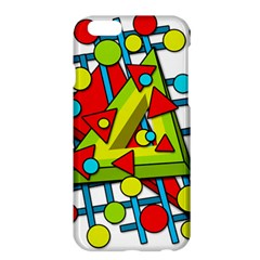 Crazy geometric art Apple iPhone 6 Plus/6S Plus Hardshell Case
