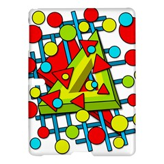 Crazy geometric art Samsung Galaxy Tab S (10.5 ) Hardshell Case