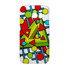 Crazy geometric art Galaxy S6 Edge