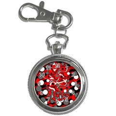 Red mess Key Chain Watches