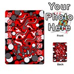Red mess Playing Cards 54 Designs  Front - Joker2